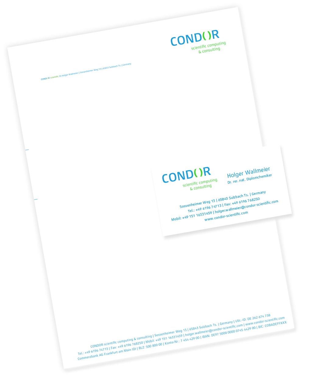Geschäftspapiere COND( )R