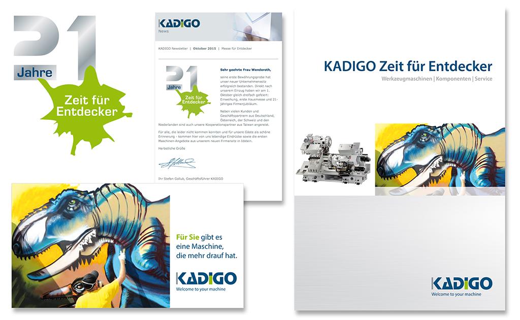 Eventausstattung 21 Jahre KADIGO