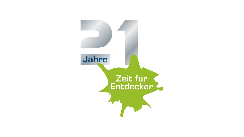 Logodesign 21 Jahre KADIGO