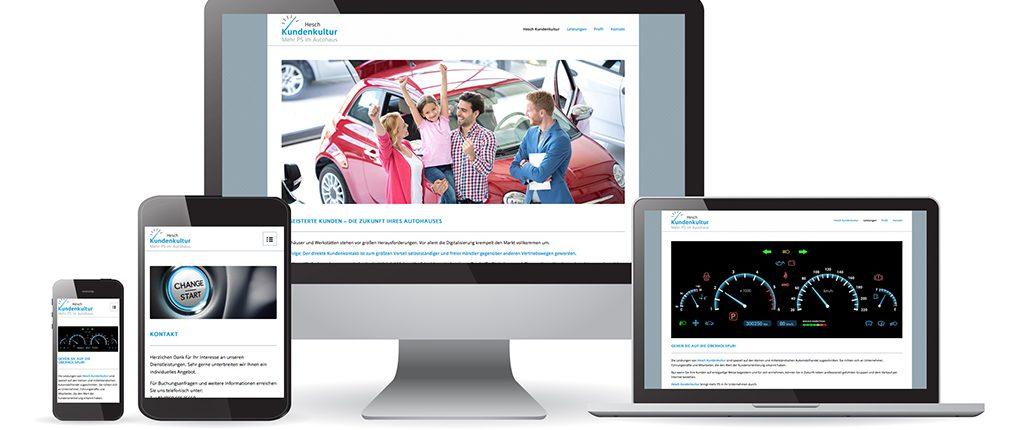Webdesign Hesch Kundenkultur