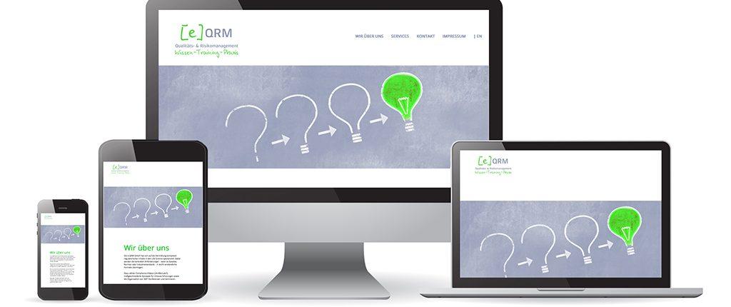 Webdesign e-QRM